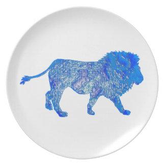 THE BLUE LION PLATE