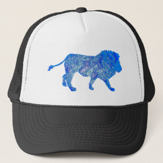 THE BLUE LION TRUCKER HAT