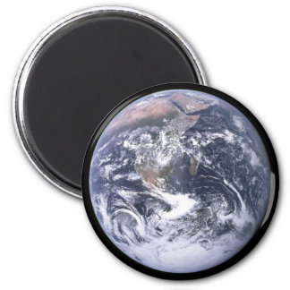 """""""The Blue Marble"""" Earth seem from Apollo 17 Refrigerator Magnets"""