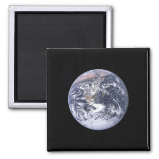 """""""The Blue Marble"""" Earth seem from Apollo 17 Magnet"""