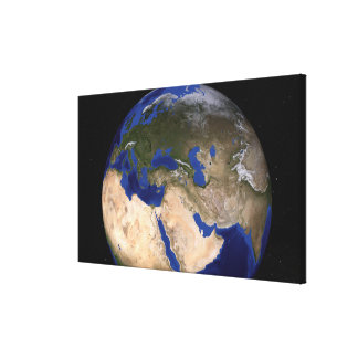 The Blue Marble Next Generation Earth 2 Canvas Print