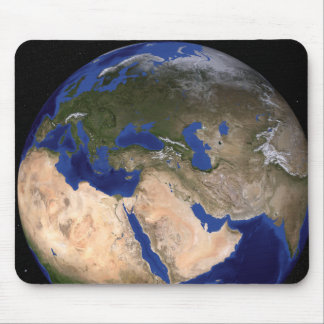 The Blue Marble Next Generation Earth 2 Mouse Pad