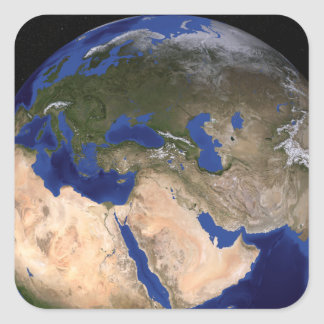 The Blue Marble Next Generation Earth 2 Square Sticker