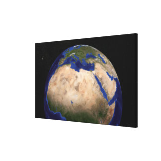 The Blue Marble Next Generation Earth 3 Canvas Print