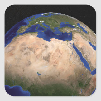 The Blue Marble Next Generation Earth 3 Square Sticker