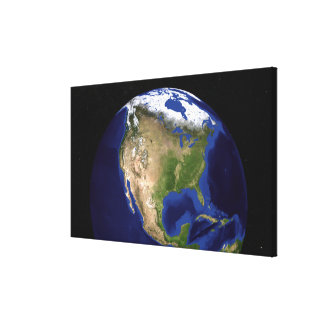 The Blue Marble Next Generation Earth 4 Gallery Wrap Canvas