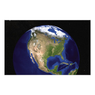 The Blue Marble Next Generation Earth 4 Photographic Print