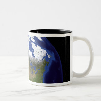 The Blue Marble Next Generation Earth 5 Two-Tone Coffee Mug