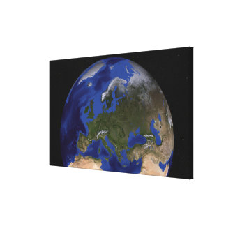 The Blue Marble Next Generation Earth 6 Canvas Print
