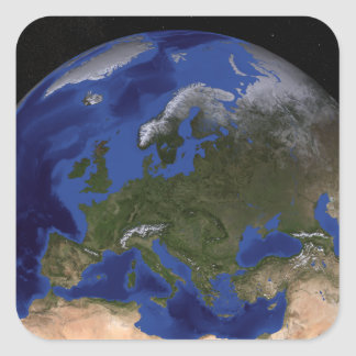 The Blue Marble Next Generation Earth 6 Square Sticker
