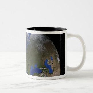 The Blue Marble Next Generation Earth 6 Two-Tone Coffee Mug