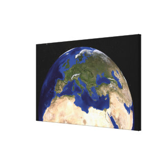 The Blue Marble Next Generation Earth 7 Canvas Print