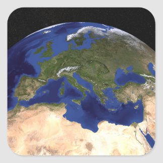 The Blue Marble Next Generation Earth 7 Square Sticker