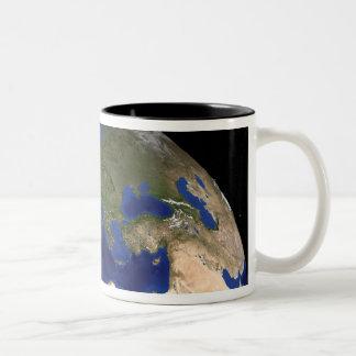 The Blue Marble Next Generation Earth 7 Two-Tone Coffee Mug