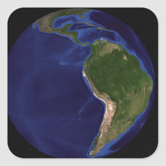 The Blue Marble Next Generation Earth 8 Square Sticker