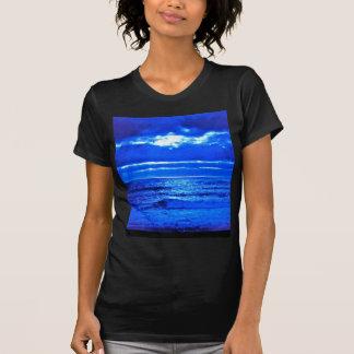 The Blue Moonscape. T-shirt