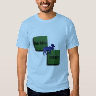 The Blue Moose Logo T Shirt
