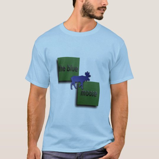 The Blue Moose Logo T-Shirt