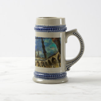 The Blue Mosque Istanbul Art Beer Stein