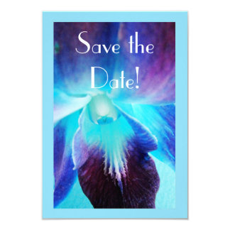 The Blue Orchid Save the Date Announcement
