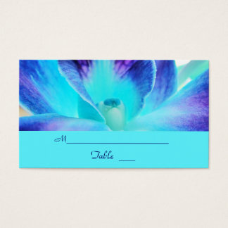 The Blue Orchid Wedding Place Card/Business Card