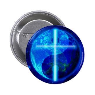 The Blue Planet Pinback Button