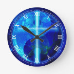 The Blue Planet Wall Clock