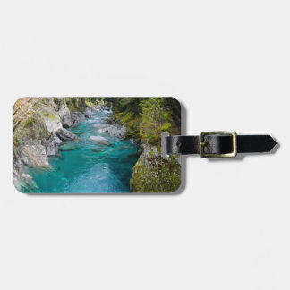 The Blue Pools, New Zealand Bag Tag