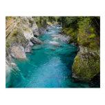 The Blue Pools, New Zealand - Postcard