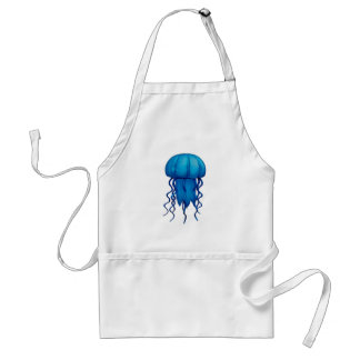 THE BLUE PULSE ADULT APRON