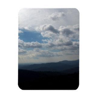 The Blue Ridge Mountains Flexible Magnet