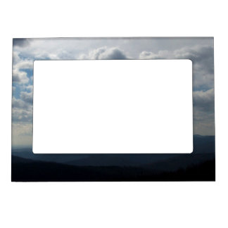 The Blue Ridge Mountains Photo Frame Magnets
