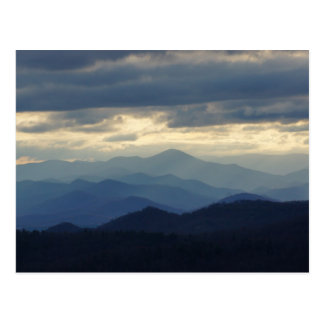 The Blue Ridge Mountains Postcard