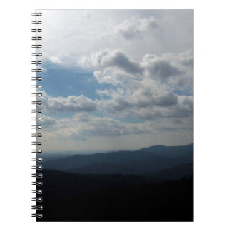The Blue Ridge Mountains Spiral Notebook
