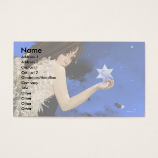 The Blue Star! Business Card