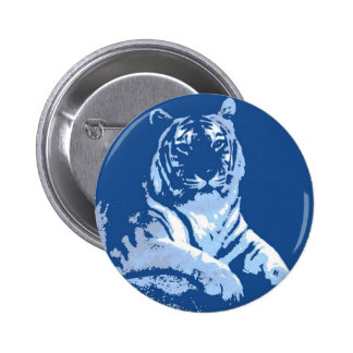 The Blue Tiger Button