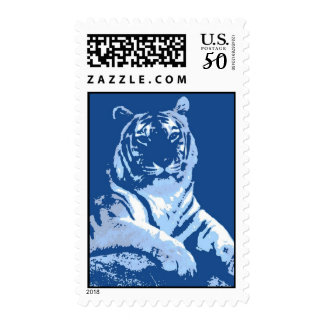 The Blue Tiger Postage