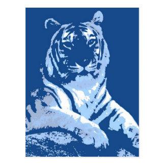 The Blue Tiger Postcard