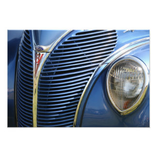 THE BLUE V8 PHOTO ART