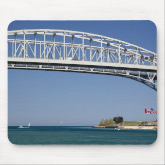The Blue Water Bridge is a twin-span bridge 2 Mouse Pad