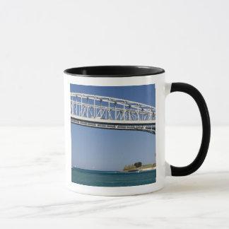 The Blue Water Bridge is a twin-span bridge 2 Mug