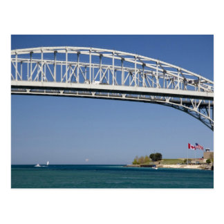 The Blue Water Bridge is a twin-span bridge 2 Postcard