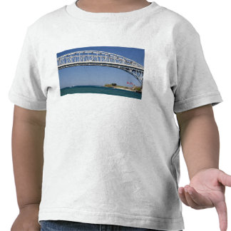 The Blue Water Bridge is a twin-span bridge 2 T Shirts