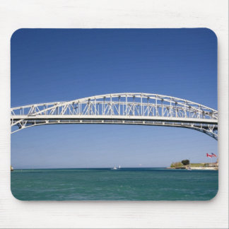 The Blue Water Bridge is a twin-span bridge Mouse Pad
