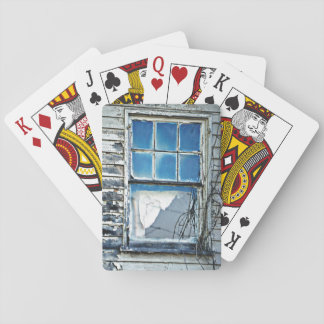 The Blue Window Playing Cards