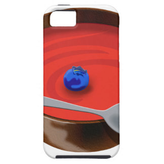 The Blueberry in a Bowl of Tomato Soup - Austin, T iPhone SE/5/5s Case
