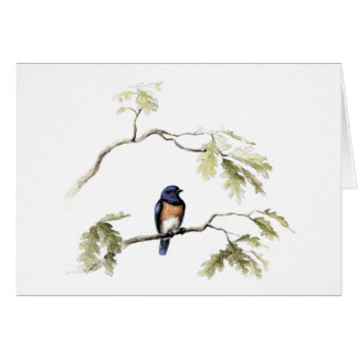 The Bluebird of Happiness Greeting Card