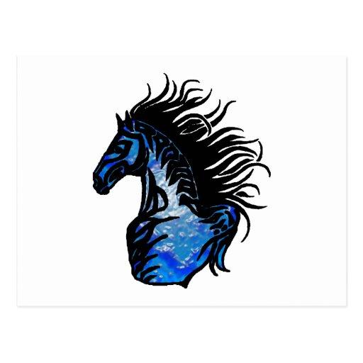 THE BLUEGRASS HORSE POSTCARD