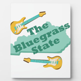 The Bluegrass State Plaque