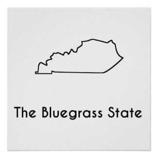The Bluegrass State Poster